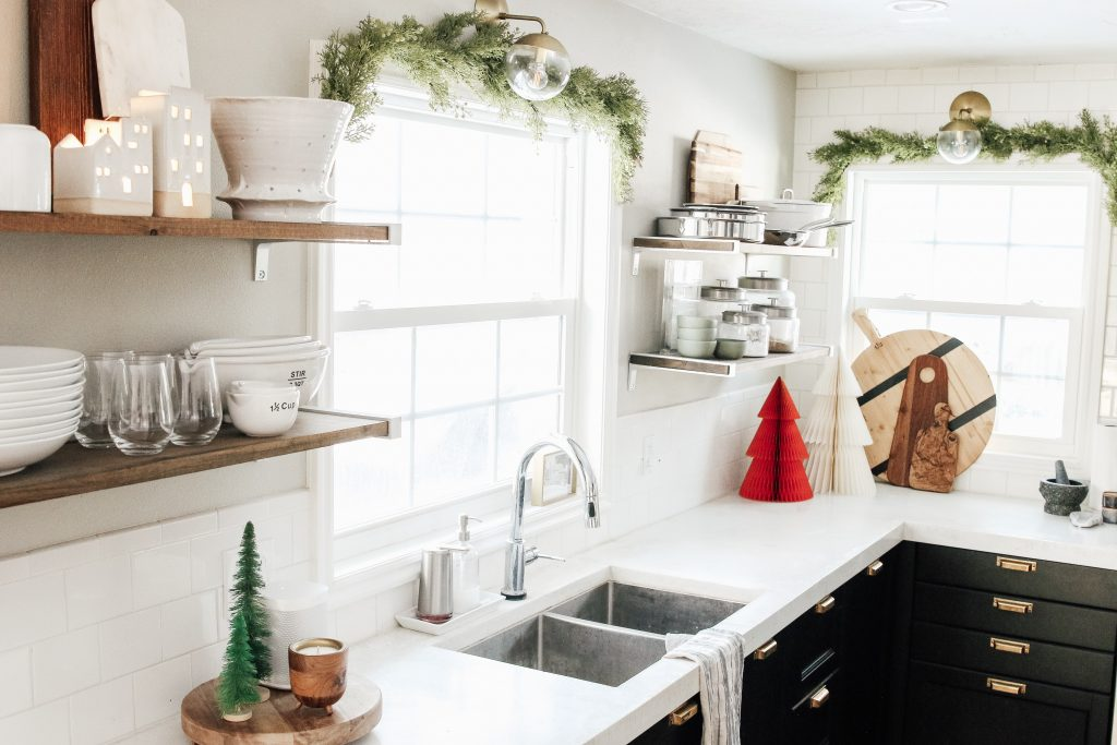 West Elm Christmas 2018.Our Christmas Kitchen Chris Loves Julia