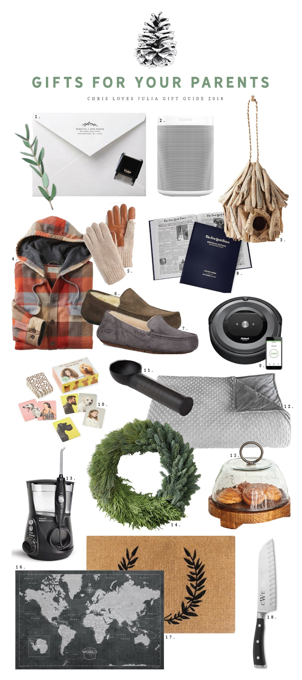 Gifts For Your Parents In Laws Grandparents Clj Gift Guide 2018 Chris Loves Julia