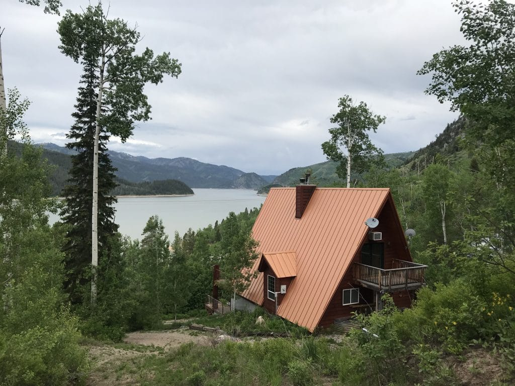 Palisade's Idaho a-Frame Cabin
