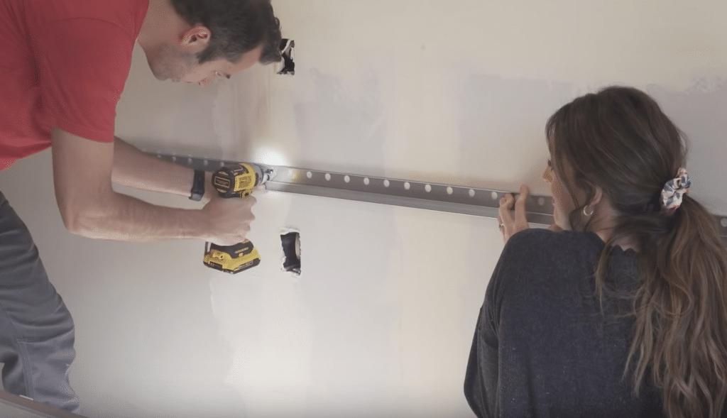 IKEA Cabinet Mounting Bar