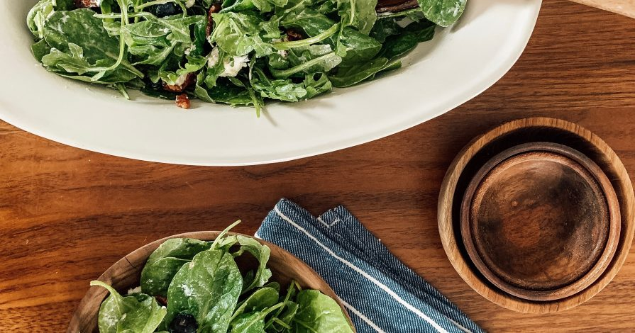 Blueberry and Bacon Spring Salad