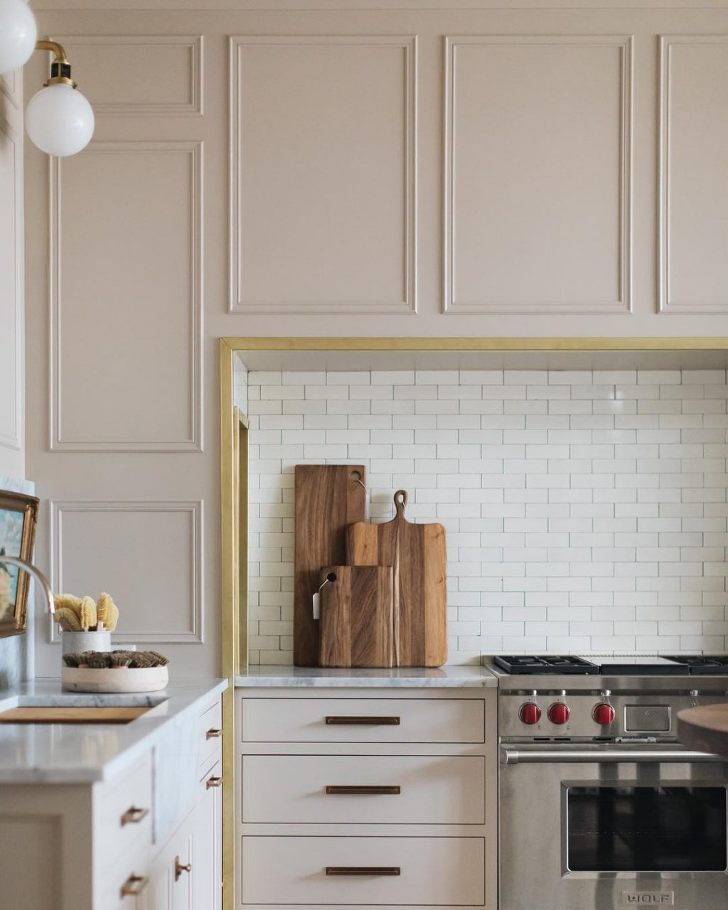captivating beige gloss kitchen | Colors We're Considering for Our Phase 1 Kitchen Cabinets ...