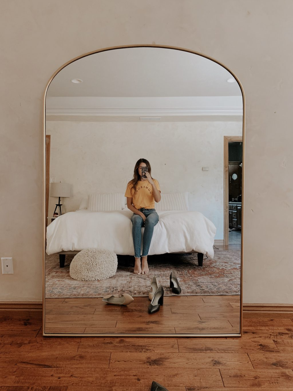 Casual Friday Arched Mirror New Beds For Greta S Room What I Actually Bought From The Nordstrom Sale Demo Begins Our Favorite Games And More Chris Loves Julia