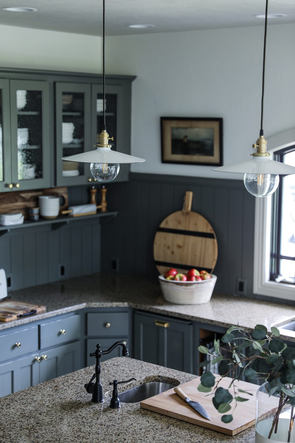 Our Modern Cottage Kitchen Makeover On The Cheap Chris Loves Julia