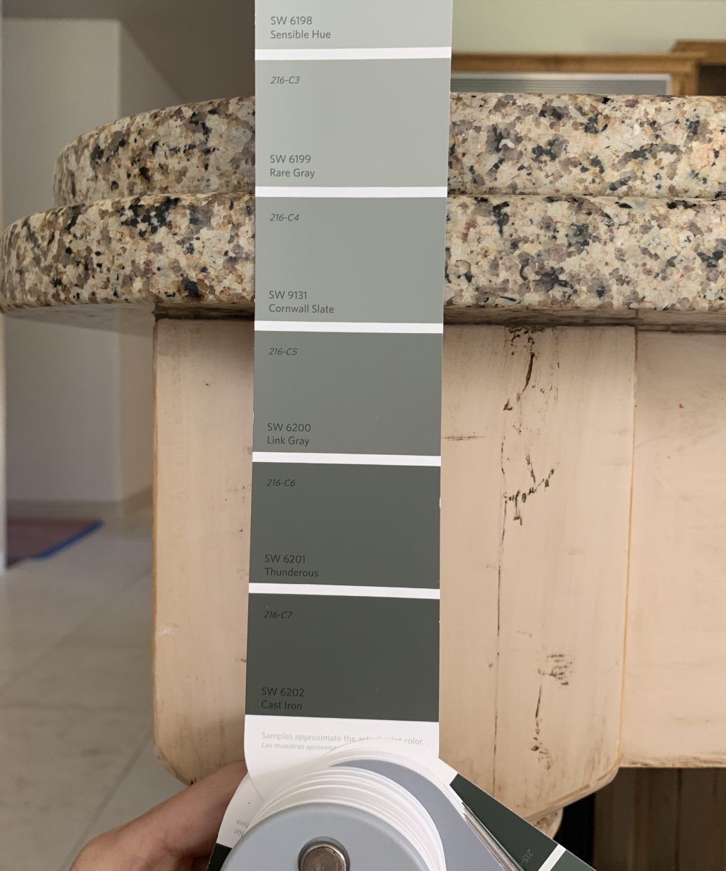 Rearranging The Kitchen Cabinets And Deciding On A Paint Color Chris Loves Julia