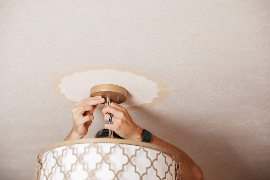 How to swap out a light fixture