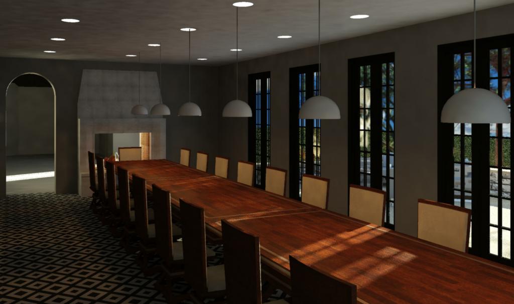 CLJ Dining Room Mockup