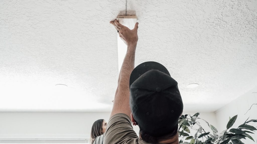 Installing Faux Wood Beams on Your Ceiling: Mounting Boards