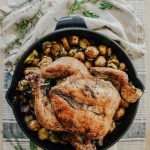 One Pan Roasted Chicken & Vegetables with Fall Spices