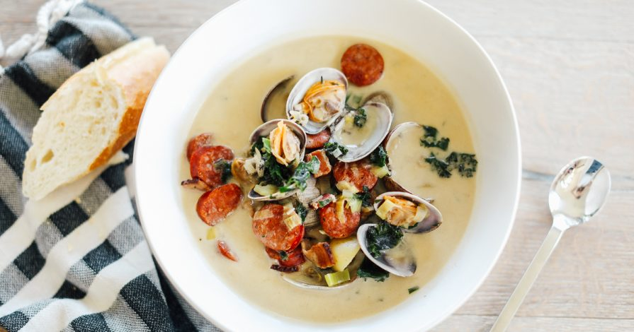 Chris Cooks: Grain & Dairy Free Clam Chowder