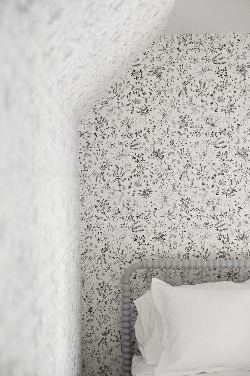 The Wallpaper Is Up In Greta S Room Carpet Samples Hooray Chris Loves Julia
