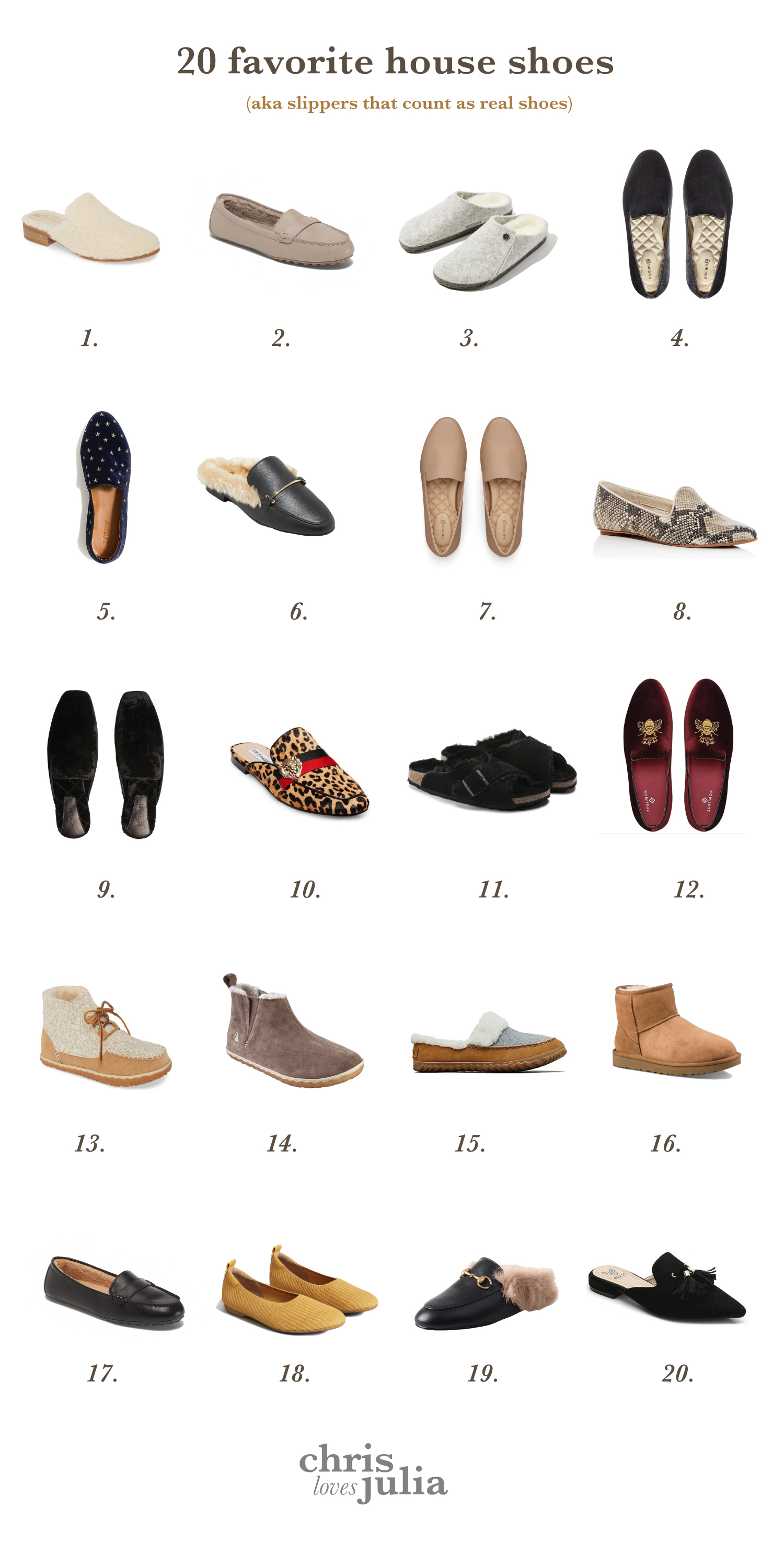 20 Favorite House Shoes Don T Call Them Slippers Chris Loves Julia