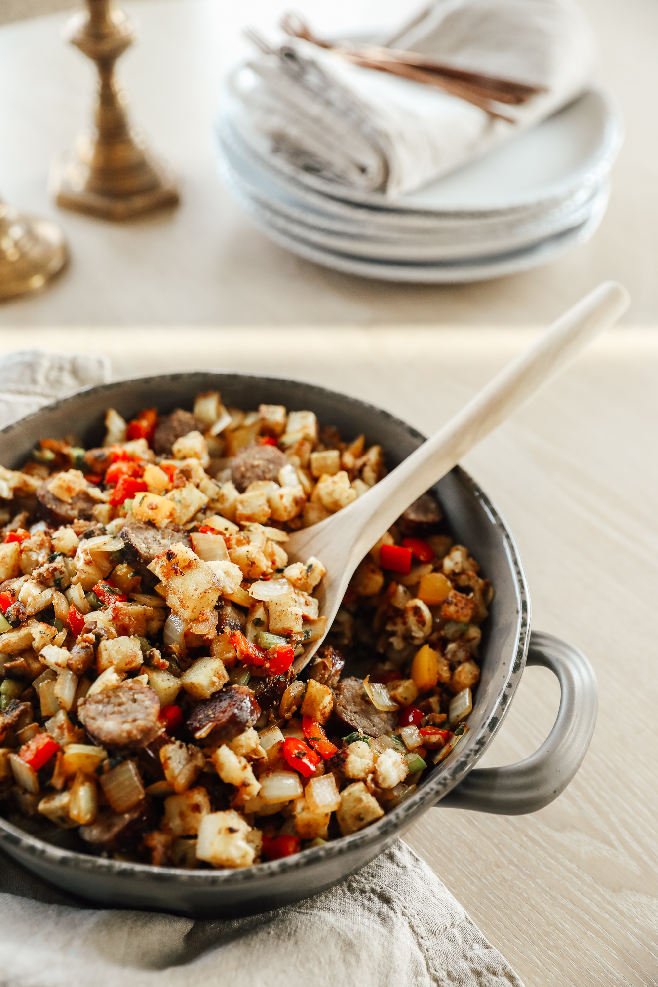 The Healthiest, Tastiest Thanksgiving Stuffing (gluten free, grain free, dairy free, egg free)