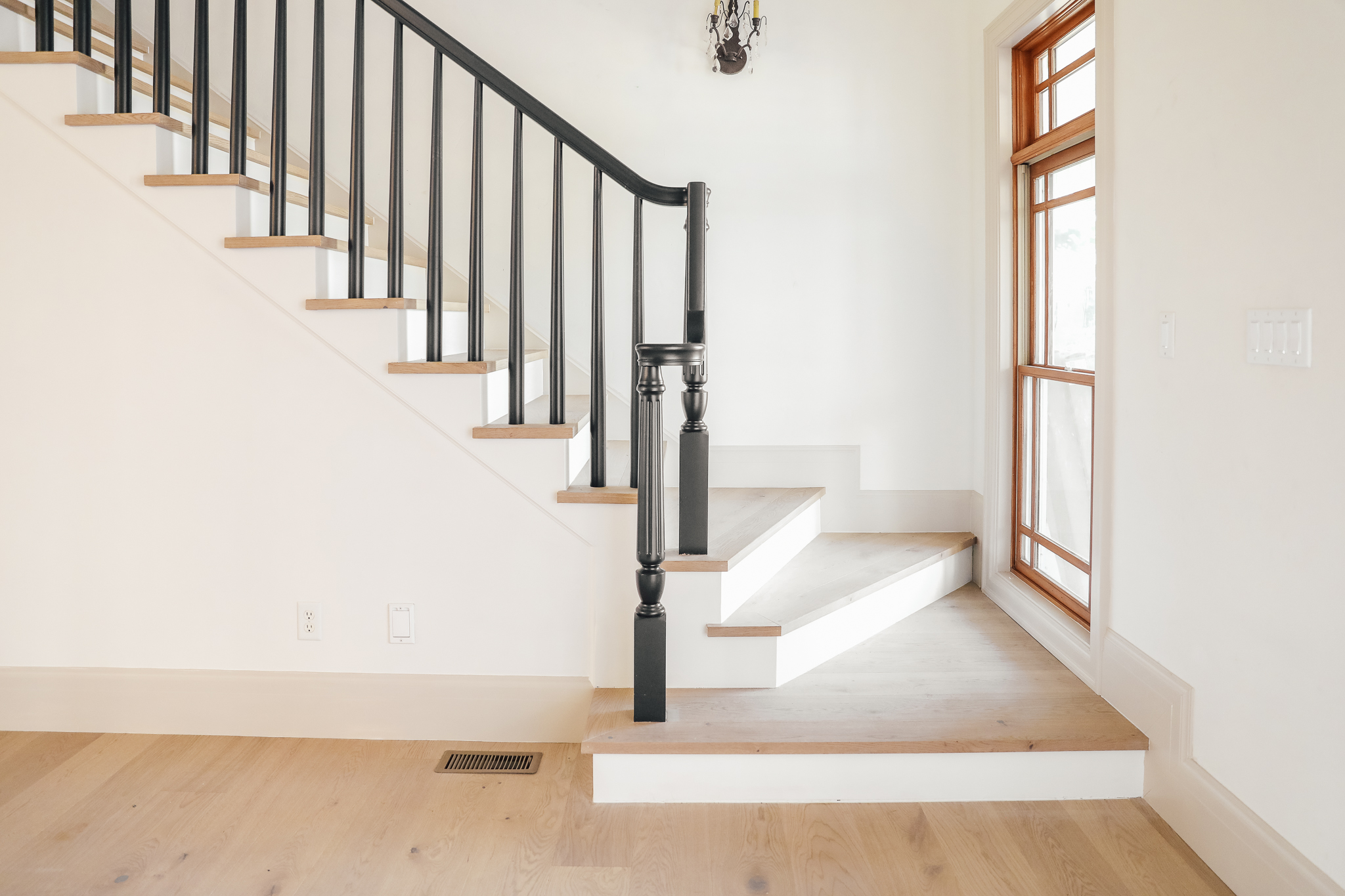 All about The New Wood Flooring throughout Our House   Chris ...