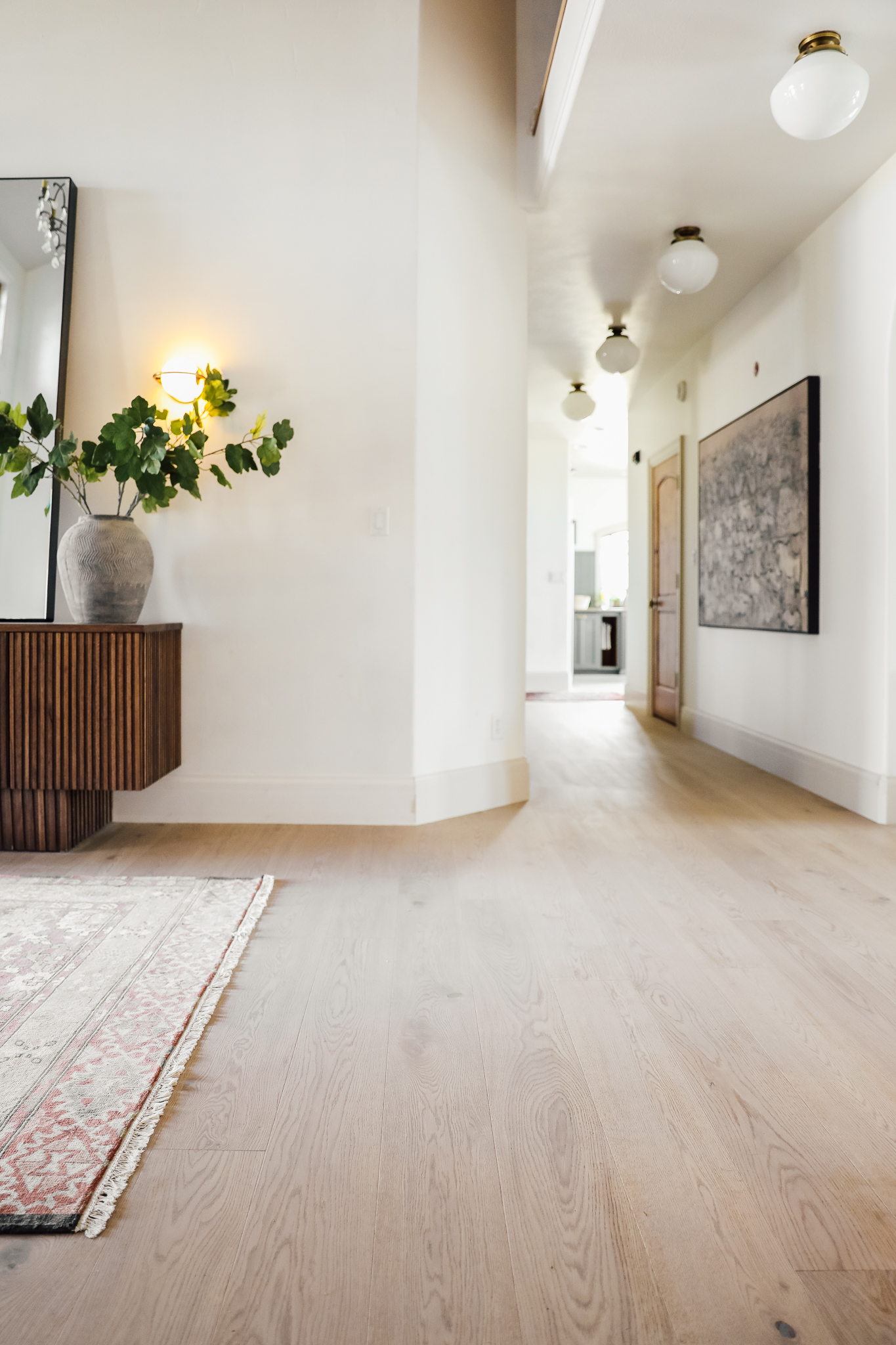 All About The New Wood Flooring Throughout Our House Chris Loves Julia