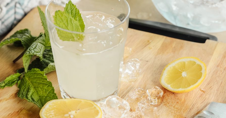 Chris Loves Julia: Honey Mint Lemonade