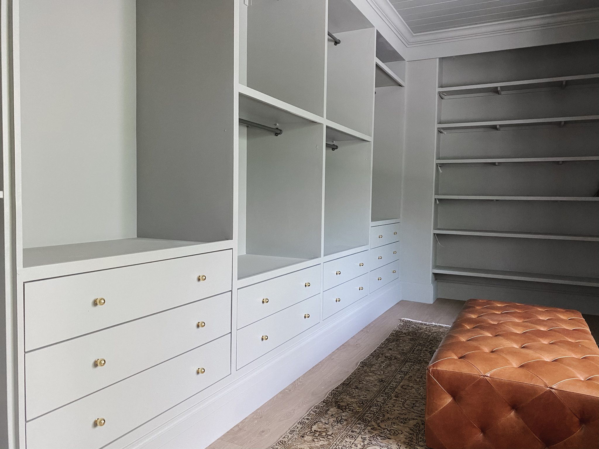 Custom Drawer Fronts for IKEA PAX Closet Drawers