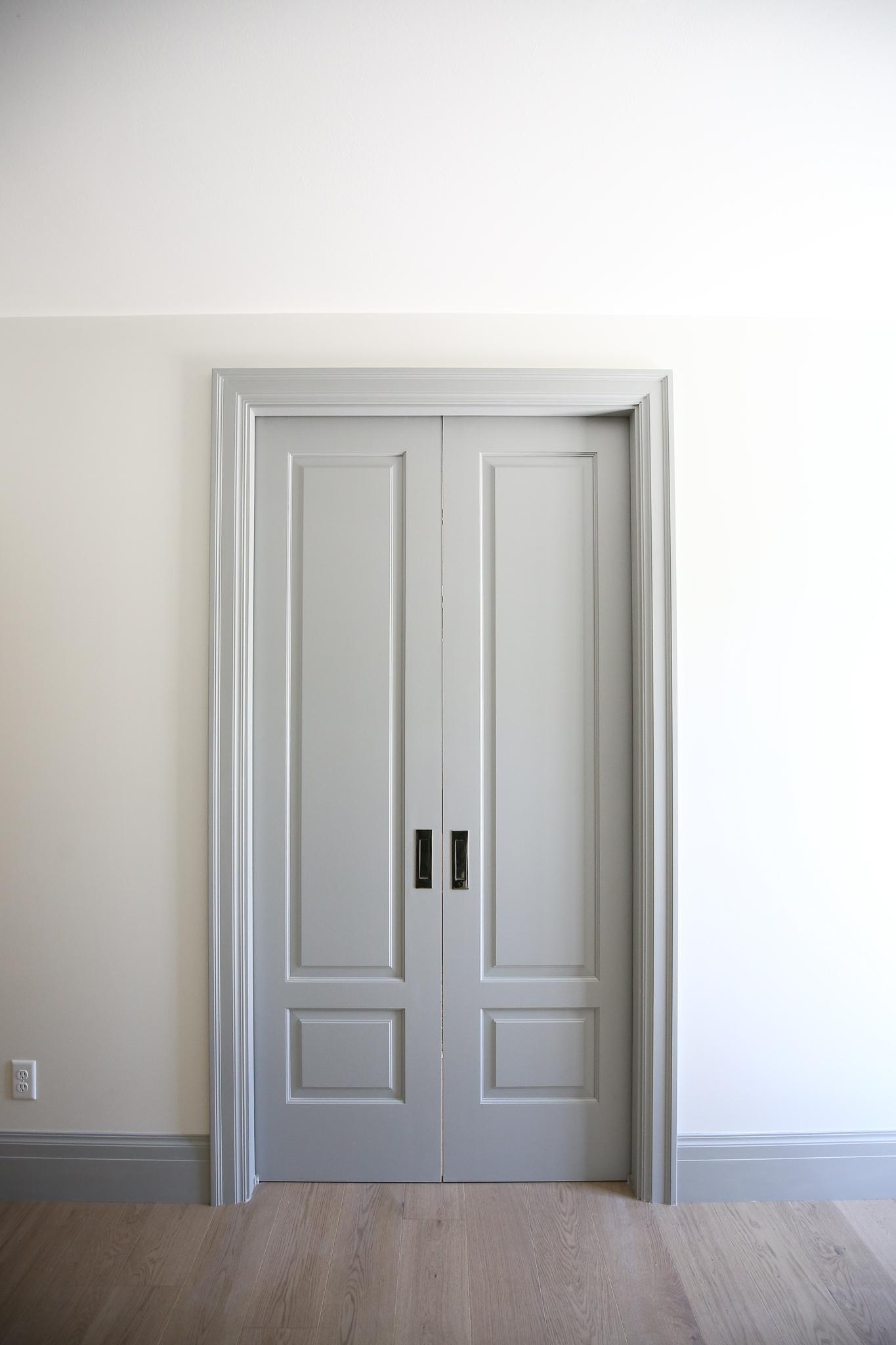 Installing Pocket Doors In The Closet Chris Loves Julia