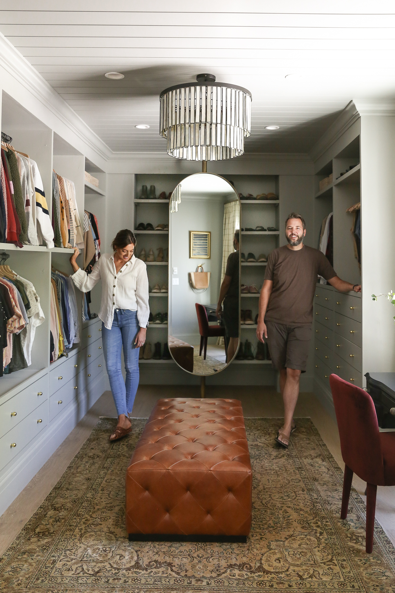 Our Closet Reveal From Thin Air To Dressing Room The Ultimate Ikea Pax Hack Chris Loves Julia