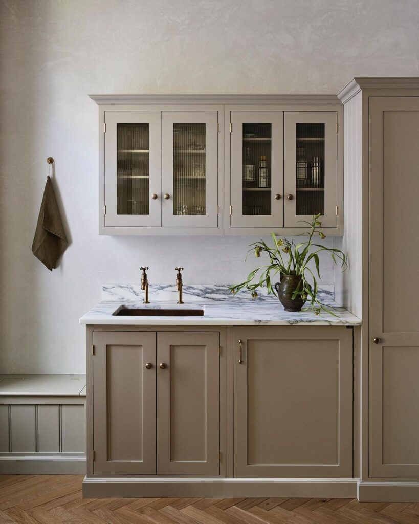 And Studio Interiors taupe paint
