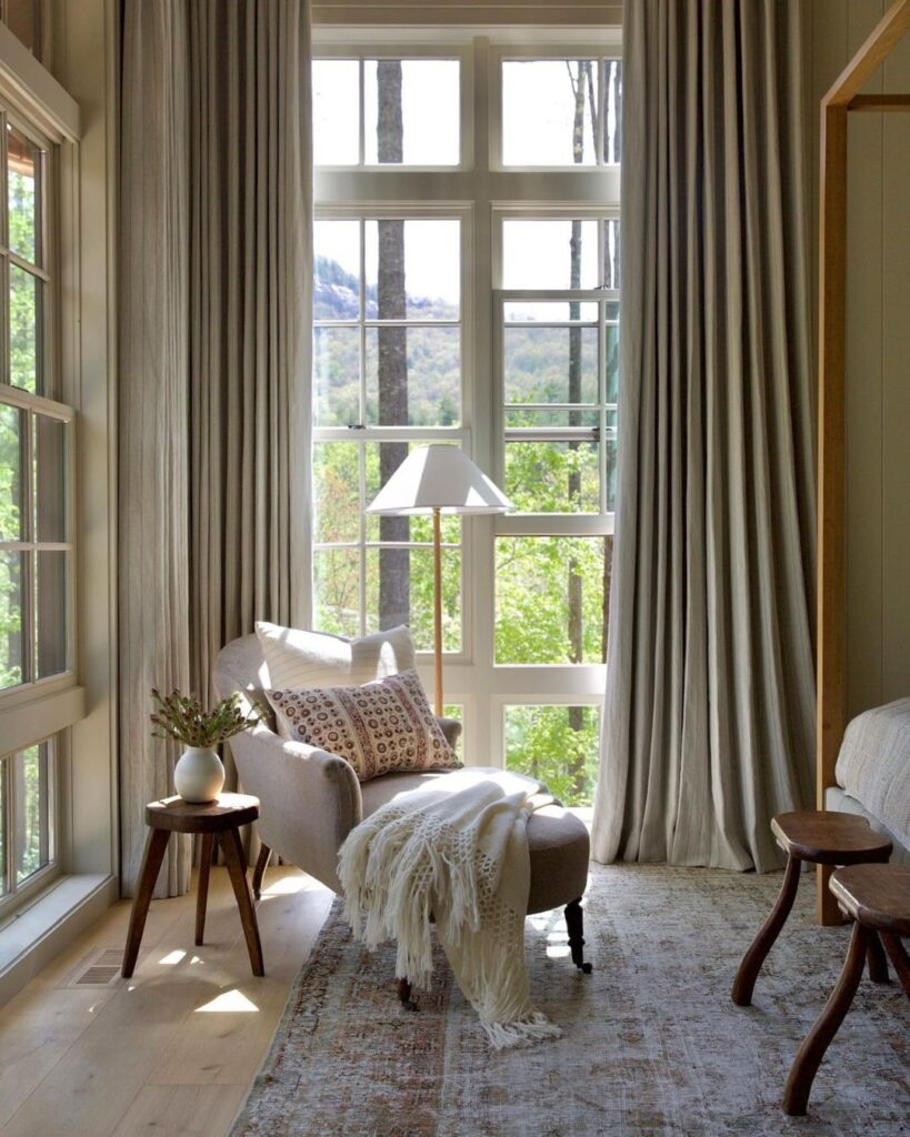 Amber Interiors taupe paint
